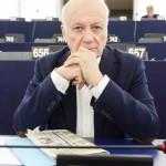 Jean-Marie CAVADA in the European Parliament in Strasbourg